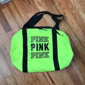 Small Victoria's Secret duffel bag